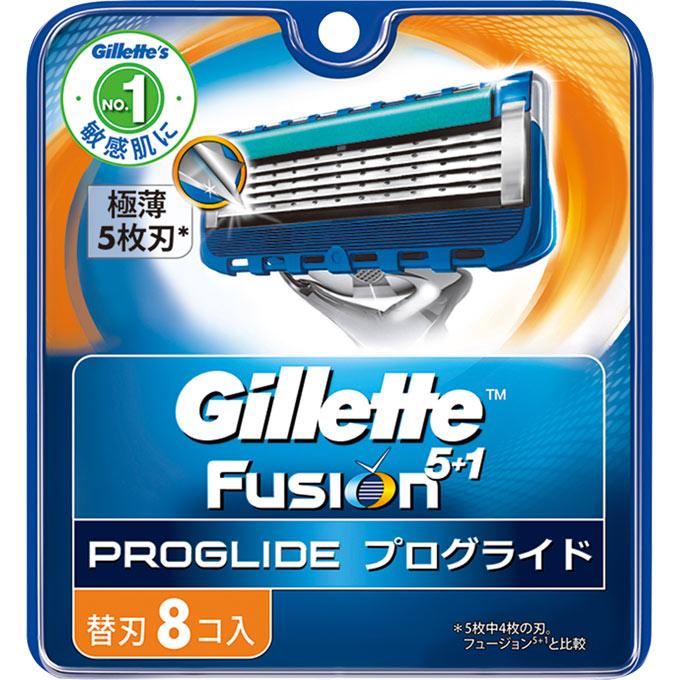 [P&G]ジレット プログライド フレックスボール マニュアル 替刃 8個入/髭剃り/カミソリ/かみそり