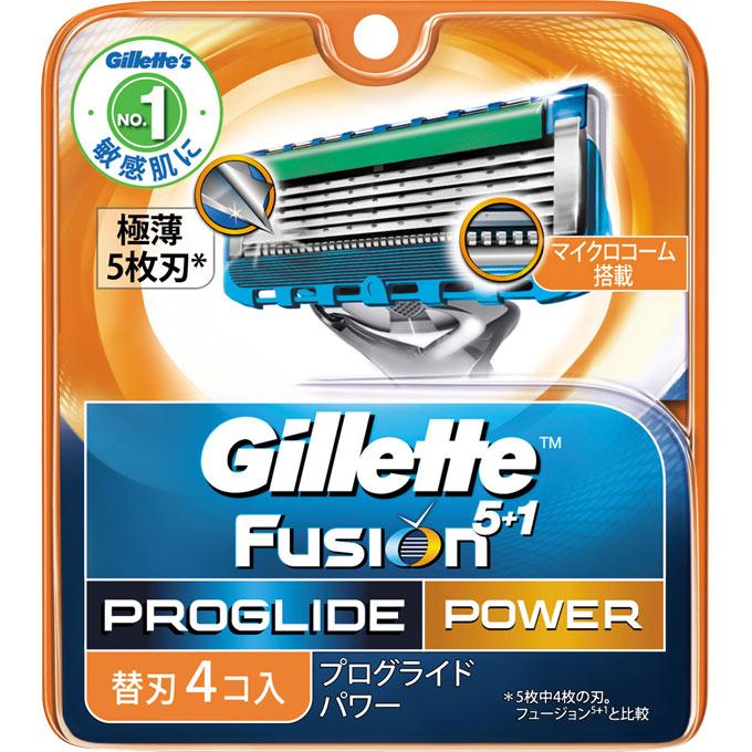 [P&G]ジレット プログライド フレックスボール パワー 替刃 4個入/髭剃り/カミソリ/かみそり