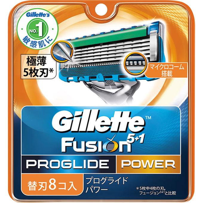 [P&G]ジレット プログライド フレックスボール パワー 替刃 8個入/髭剃り/カミソリ/かみそり