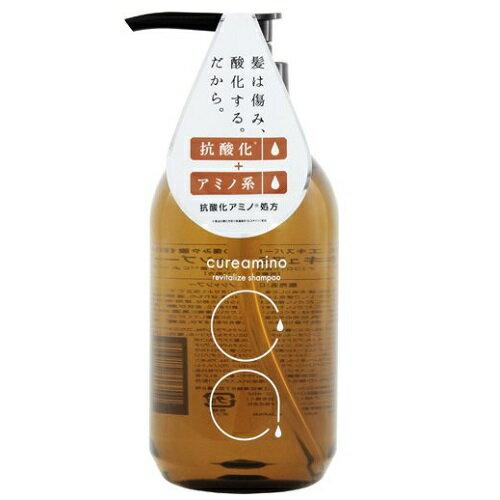 [味の素ヘルシーサプライ]キュアミノ リバタライズシャンプー ポンプ 500ml/ヘアケア/洗髪/cureamino