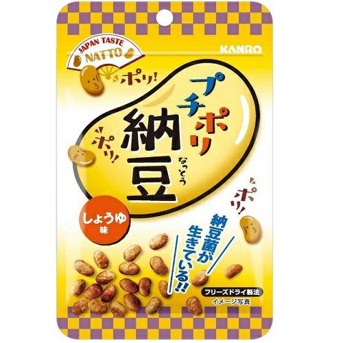 【数量限定】プチポリ納豆 しょうゆ味 18g//納豆菌/おやつ/おつまみ/お菓子/フリーズドライ/フリーズドライ納豆/カリカリ/スナック