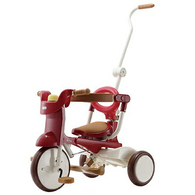 iimo tricycle(イーモ トライシクル) #02 Eternity Red(エタニティー レッド)[送料無料]//折りたたみ式/三輪車/幼児用