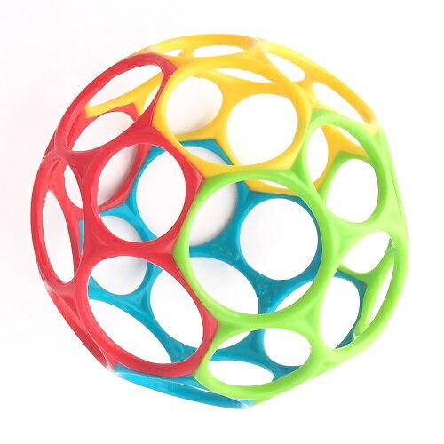 Oball(オーボール) ミックス(グリーン、ブルー、レッド、イエロー)//知育/おもちゃ/赤ちゃん/ベビー
