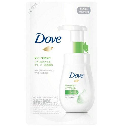 [ユニリーバ]ダヴ ディープピュア クリーミー泡洗顔料 詰替え 140ml/スキンケア/洗顔フォーム