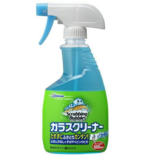 [ジョンソン]スクラビングバブル ガラスクリーナー 本体 500ml/窓拭き/洗剤/スプレー