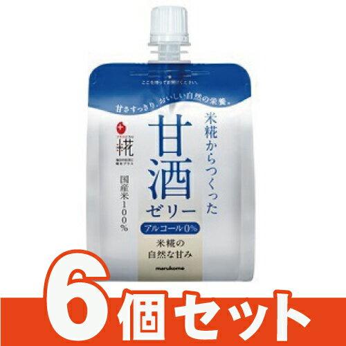 [マルコメ]プラス糀 米糀の甘酒ゼリー 160g【6個セット】/ワンハンド/デザート/国産米