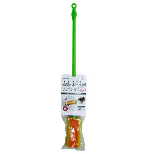 [アズマ工業]水筒・ボトル用スポンジ オレンジ (AZ699O)/ペットボトルの中/水筒の中/洗う
