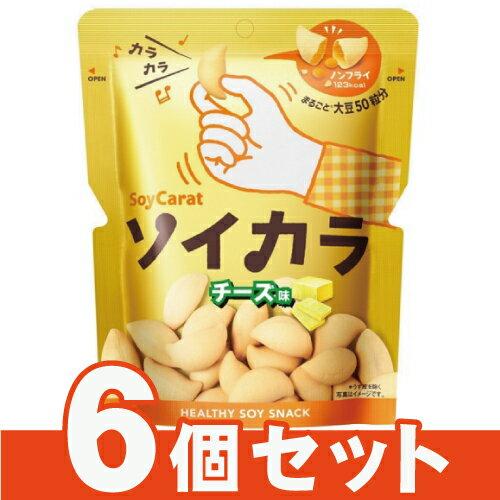 [大塚製薬]ソイカラ チーズ味 27g【6個セット】/お菓子/スナック/大豆