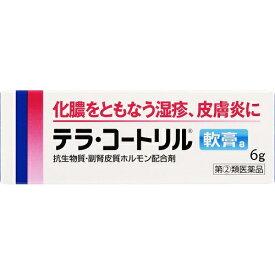 【第(2)類医薬品】テラ コートリル軟膏a 6g