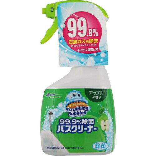 [ジョンソン]スクラビングバブル 99.9%除菌バスクリーナー アップルの香り 本体 400ml