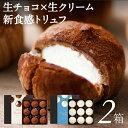 【当日出荷】 生チョコ 9個入 2箱 選べる2種 送料無料 トリュフ シャンティ ショコラ ボヌール チョコレート ギフト …
