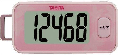 【メール便216円】タニタ(TANITA) 3Dセンサー搭載歩数計 桜 FB-731−PK【在庫処分】