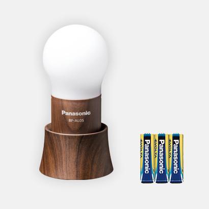 パナソニック エボルタ乾電池付LEDランタン 球ランタン BF-AL05-TM