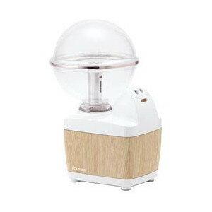 加湿器 コイズミ 超音波式小型加湿器 LEDイルミネーション付 ホワイト KHM-1061-MW ペットボトル対応