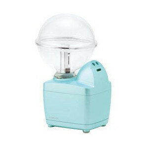加湿器 コイズミ 小型 超音波式加湿器 ペットボトル対応 LEDイルミネーション付  KHM-1062-A ブルー