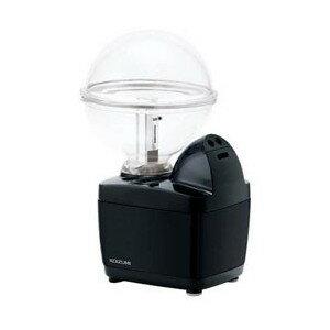 加湿器 コイズミ 小型 超音波式加湿器 LEDイルミネーション付 ブラック KHM-1062-K ペットボトル対応
