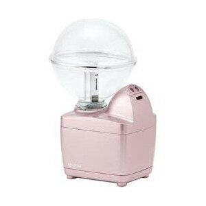 加湿器 コイズミ 小型 超音波式加湿器 LEDイルミネーション付 ピンク KHM-1062-P ペットボトル対応