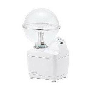 加湿器 コイズミ 小型 超音波式加湿器 LEDイルミネーション付 ホワイト KHM-1062-W ペットボトル対応