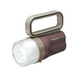 パナソニック 電池がどっちかライト LED懐中電灯 BF-BM01-CT チョコレートブラウン