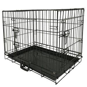 生産待予約受付中 SIS ペットゲージ GY07-XXL 中型・大型犬用 移動に便利な折り畳み式ペットケージ