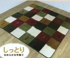 イケヒコ ホットカーペットカバー 2畳タイプ 詩音 展示品処分 カーペット 着せ替えカバー