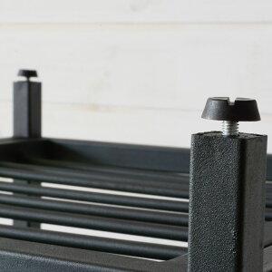 アイアンフレームサイドテーブル(63070)テーブル木製サイドテーブルローテーブルソファテーブルベッドサイドテーブルカフェテーブル机アイアンフレーム塩系インテリア男前西海岸家具無垢材アンティーク調アイアンスチール