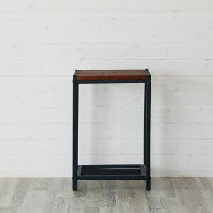 アイアンフレームのサイドテーブル(63070)テーブルサイドテーブルローテーブルソファテーブルベッドサイドテーブルカフェテーブル机アイアンフレーム