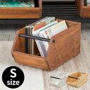 ウッドコンテナボックスS (66331) 引き出し 木 木製 スタッキング オイル仕上げ 両面使用可能 オープン ハンドル付き 持ち手付き 収納 キッチン おしゃれ 雑貨 ヴィンテージ アメリカン カ