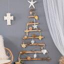 流木ツリー ウォールツリー クリスマスツリー 壁掛け ウォールデコレーション ウッドツリー ツリー 流木 オブジェ デ…