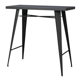 カウンターテーブル スチール製 幅105cm 高さ100cm 組立品 [91256]【 カウンター テーブル バーカウンター ダイニング スタンディンデスク キッチン家具 おしゃれ 】