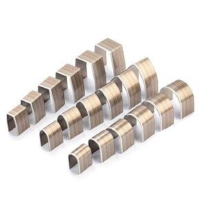 レザークラフト 型抜き 抜き型 簡単 ポンチ 工具 円 半円 18個セット 穴開け スマホ タブレット パンチ