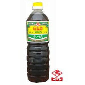 ヒシク藤安醸造 うすくちしょうゆ すいせん 1L×6本 箱入り 代引き不可