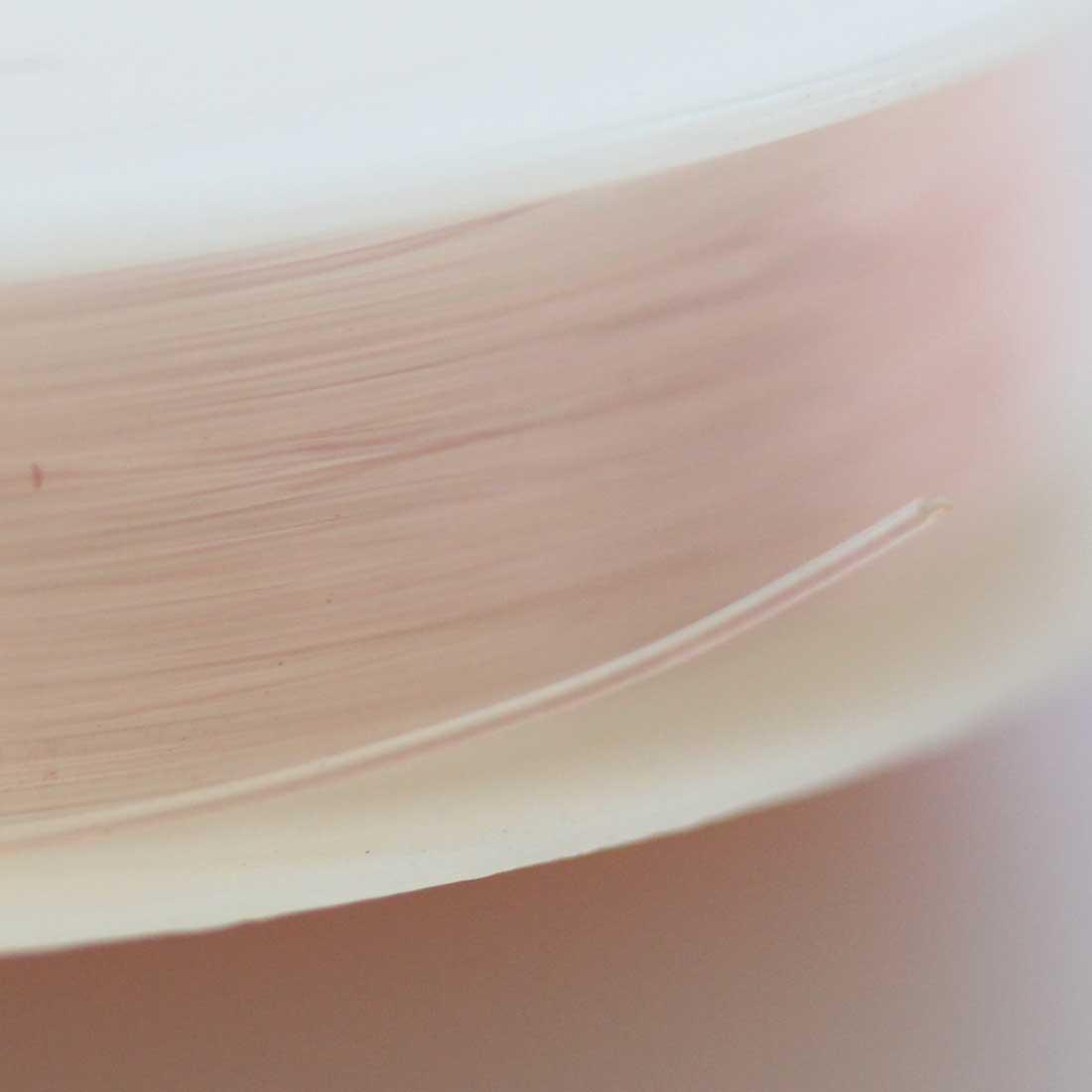 ブレスレット用 オペロンゴム 【0.5mm/12M】【ペールピンク】sgy-1203b【メール便可】(ブレスレット用ゴム ゴム紐 ゴムひも テグス パワーストーン 天然石 ブレスレット 水晶の線 薄いピンク ピンク)