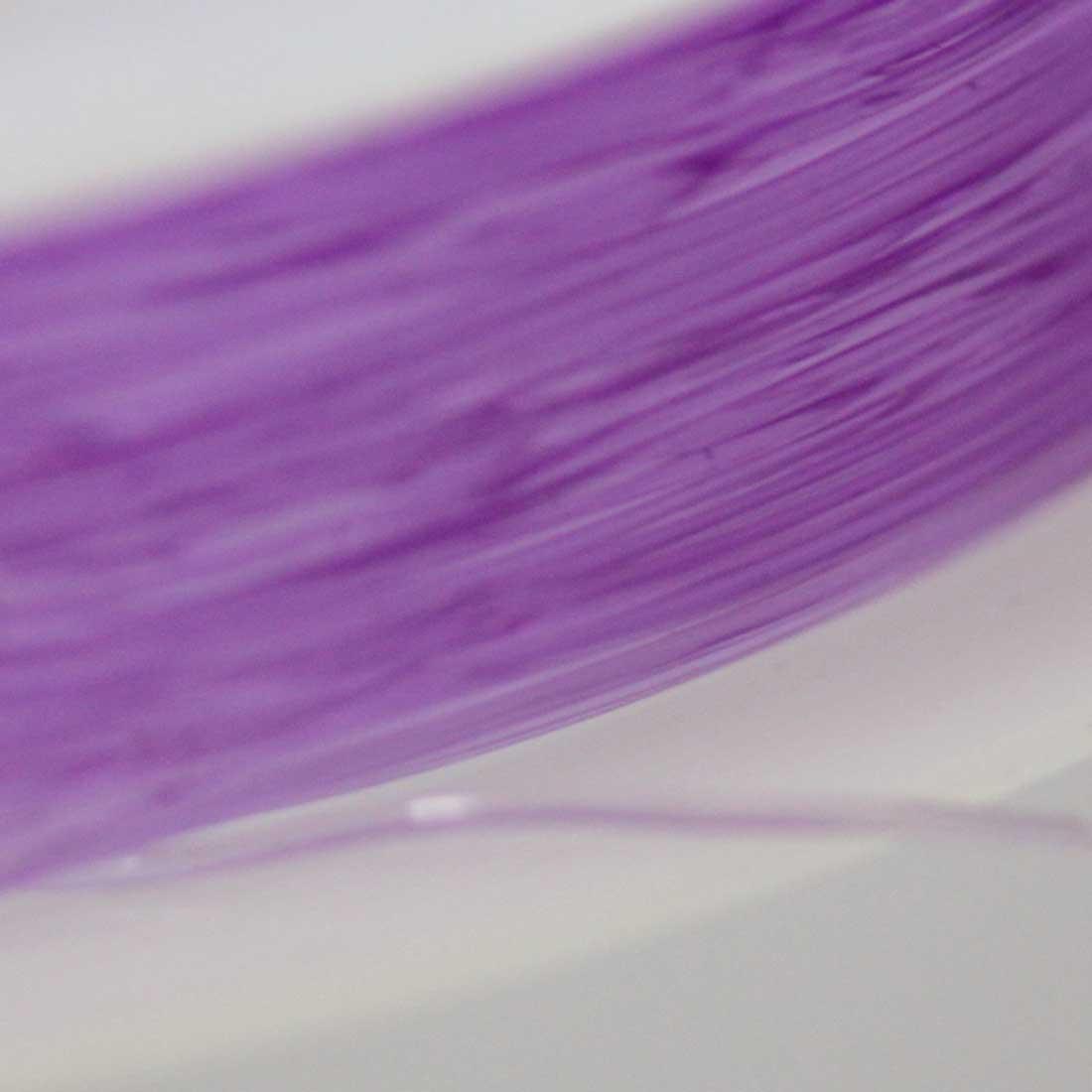 ブレスレット用 オペロンゴム 【0.5mm/12M】【パープル】sgy-1203c【メール便可】(ブレスレット用ゴム ゴム紐 ゴムひも テグス パワーストーン 天然石 ブレスレット 水晶の線 紫 紫色)