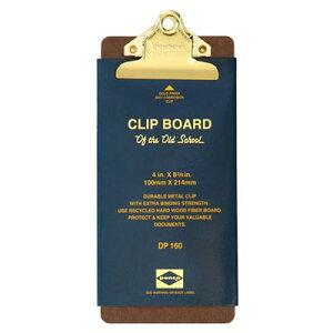 ペンコ クリップボード オールドスクール ゴールド チェック DP160 クリップホルダー クリップ バインダー おしゃれ かっこいい 文具 タテ 縦 ファイル アメリカ HIGHTIDE ハイタイド 会計 お会