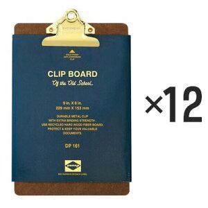 【12個セット】ペンコ クリップボード オールドスクール ゴールド A5 DP161 クリップホルダー クリップ バインダー おしゃれ かっこいい 文具 タテ 縦 ファイル アメリカ HIGHTIDE ハイタイド