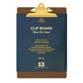 ペンコ クリップボード オールドスクール ゴールド A4 DP162 クリップホルダー クリップ バインダー おしゃれ かっこいい 文具 タテ 縦 ファイル アメリカ HIGHTIDE ハイタイド