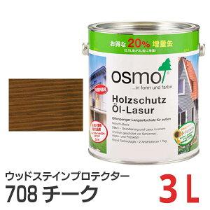 オスモカラー ウッドステインプロテクター チーク(#708) 3L