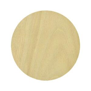 木製 丸形 朴 直径90x15mm 木材 木工 材料 板材 素材 工作 DIY 円 円形 コースター