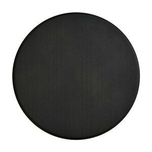 パイン集成材 円形 ブラック塗装 直径400x厚18mm 集成材 木材 木板 ボード カット 丸い 円 丸 工作 DIY 日曜大工 パイン