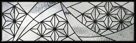 ステンドグラス ピュアグラス SH-C34 パネル 窓枠 おしゃれ アンティーク ガラス ランプ シート 照明 北欧 取り付け DIY ドア 窓 リビング 浴室 玄関 日除け 目隠し 室内 屋内 ステンドガラス 送料無料