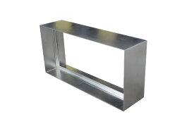 ステンドグラス ピュアグラス K03N K04専用ステンレス枠 パネル 窓枠 おしゃれ アンティーク ガラス ランプ シート 照明 北欧 取り付け DIY ドア 窓 リビング 浴室 玄関 日除け 目隠し 室内 屋内 ステンドガラス 送料無料