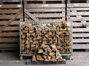広葉樹 ナラ・クヌギの薪 40cm 約320kg 薪 丸太 薪ストーブ ストーブ 暖炉 乾燥 焚火 ピザ窯 着火剤 燃料