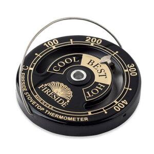 ファイヤーサイド ストーブサーモメーター 薪ストーブ アクセサリー 温度計 燃焼温度 温度