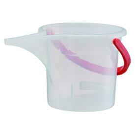 大和プラスチック 水差しバケツJOY 5型(5L) クリア【ヤマトプラ/4903266600044】