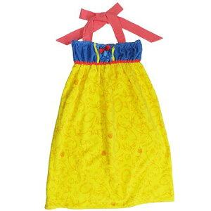 ディズニー バスドレス 白雪姫「ドレススノー」!ドレスタオル・ラップタオル!プール・海・お風呂上がりにも!! 贈り物 お祝い かわいい おしゃれ 内祝い おめでとう お返し