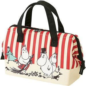 ムーミン がま口型ランチバッグ 「ムーミン ボーダー&ストライプ」!保冷ランチバッグ・弁当箱・弁当袋43699-4-KGA1! 贈り物 お祝い かわいい おしゃれ 内祝い おめでとう  お返し