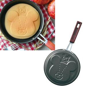 くまのがっこう パンケーキパン ジャッキー 直径16cm【あす楽】フライパン ホットケーキ フッ素加工 日本製 調理器具 クッキング スイーツ ギフト 贈り物 お祝い かわいい おしゃれ 内祝い