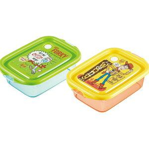 ディズニー トイストーリー シールボックス 500ml 2個セット【あす楽】日本製 シールランチ お弁当箱 ランチボックス 保存容器 タッパ 学校 職場 オフィス 遠足 ピクニック 贈り物 お祝い か