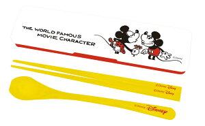 ディズニー 箸&スプーンセット「MICKEY&MINNIE」!ランチ!DIA-1001! 贈り物 お祝い かわいい おしゃれ 内祝い おめでとう お返し